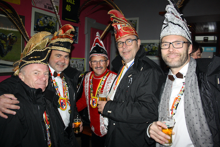Carnaval de Martelange, Evenements en photos I Presentation du Prince 2020 11-11-2019